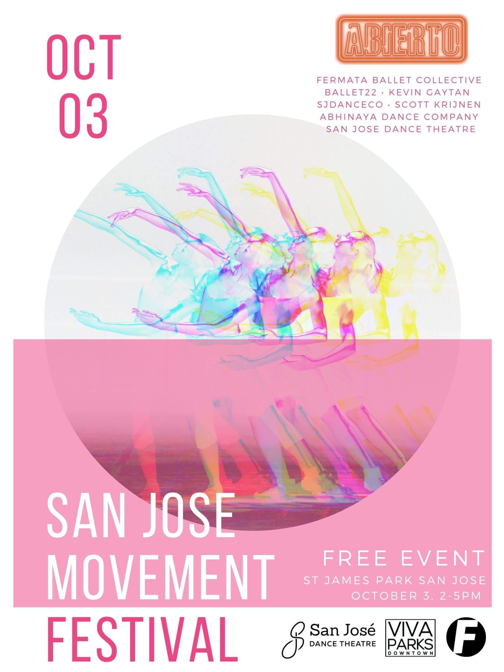 SJ Movement festival 2021 front poster